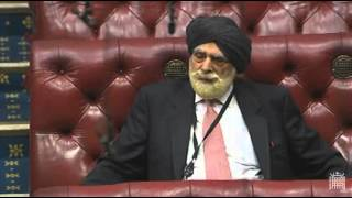 1984 Operation Bluestar Sri Harmandir Sahib - House of Lords, Lords Chamber (3rd Mar