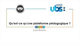 Qu'est-ce qu'une plateforme pédagogique ?