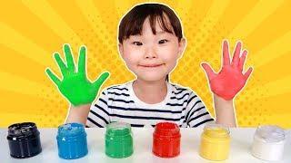손가락 핑거송 놀이 상어송 인기동요 어린이 영어동요 Kids Learn Colors with Finger Family Song