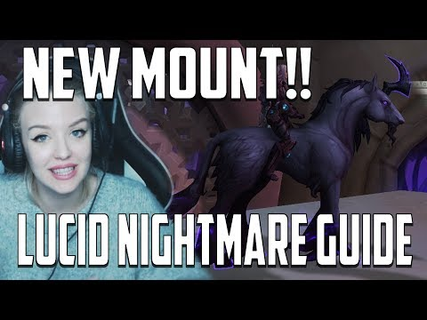 LUCID NIGHTMARE GUIDE | New Mount from Riddle Solved!