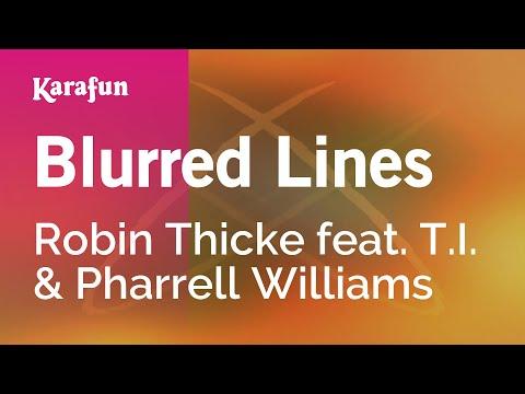 Karaoke Blurred Lines - Robin Thicke *