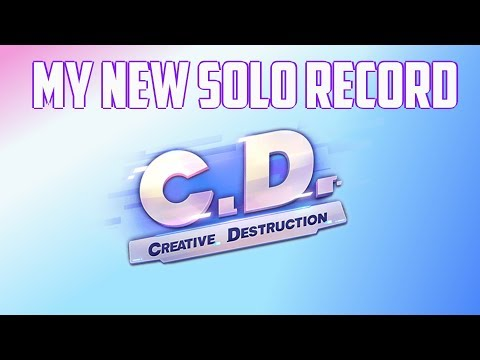 MY NEW SOLO RECORD! - 21 KILL GAME! - Creative Destruction