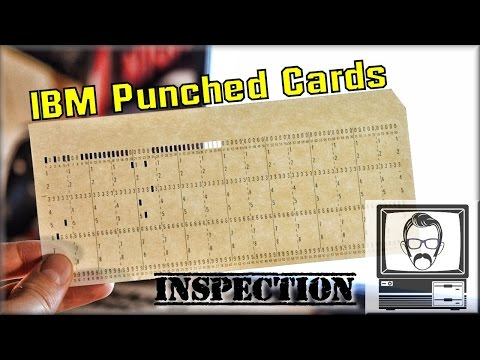 IBM Punched Cards, Hollerith Cards [Inspection]   Nostalgia Nerd