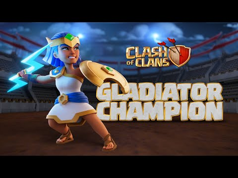 Gladiator Champion Strikes With Lightning! (Clash of Clans Season Challenges)