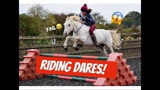 RIDING DARES! | Lily Equestrian