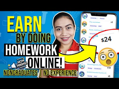 GET PAID $24 BY ANSWERING HOMEWORK ONLINE | FREE TIME ONLINE JOB | Pwede Sa STUDENTS!