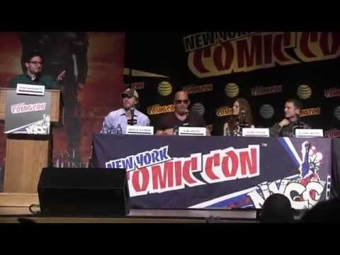 Vin Diesel - The Last Witch Hunter Panel NYCC Rose Leslie, E
