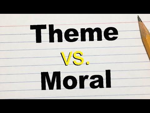 Moral vs Theme