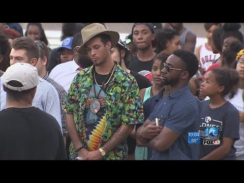 ODU students hold vigil for victims of recent police-involved shootings