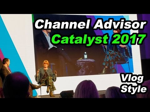 Channel Advisor EU Catalyst 2017 Vlog Ft Mary Portas, Google, & More- Manc Entrepreneur -Episode 112
