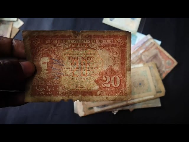 MALAYA 20 Cents - World Used Condition Banknotes Part 3