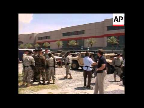 National Guard arrives to patrol streets