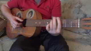 Обучение игре на гитаре.Песня ТОПОЛЯ. Самоучитель  №2