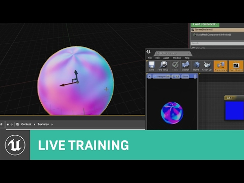 Mesh Displacement & Material Editor | Live Training | Unreal Engine