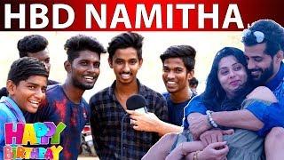 Chennai Fans Celebrating Namitha's Birthday…! | Happy Birth Day Namitha