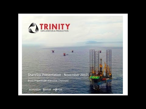 Trinity Exploration & Production (TRIN) at Sharesoc growth seminar November 2017