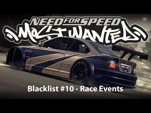 Need for Speed: Most Wanted | Blacklist #10 | Race Events | Tollbooth Waterfront & Bristol