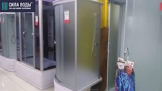 Обзор душевой кабины Profline 8003 100х100