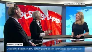 Prof. Christine Landfried und Rudolf Dreßler zur Personaldebatte bei der SPD am 13.02.18