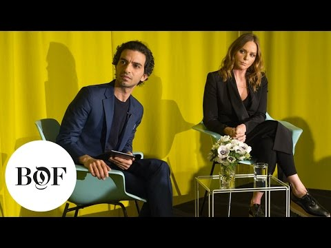 Stella McCartney In Conversation for the launch of #BoFVOICES