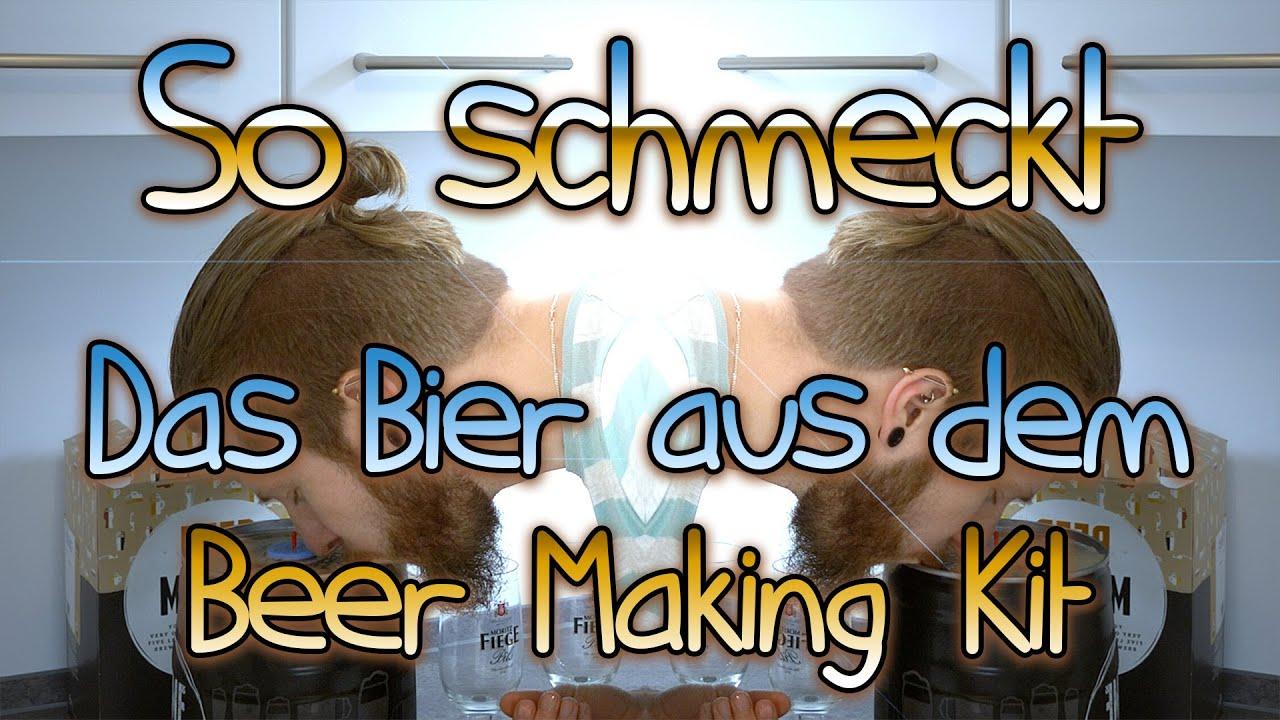 So schmeckt das Pils aus dem Beer Making Kit von Braufässchen | Selbst Brauen Review Teil 2