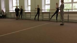 Открытый урок хореографии в художественной гимнастике часть 3