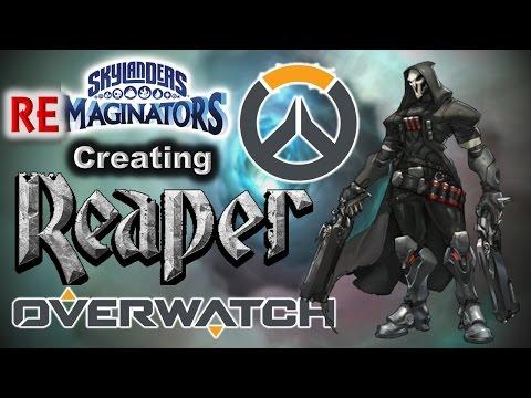 Skylanders RE-maginators - Creating REAPER from Overwatch in