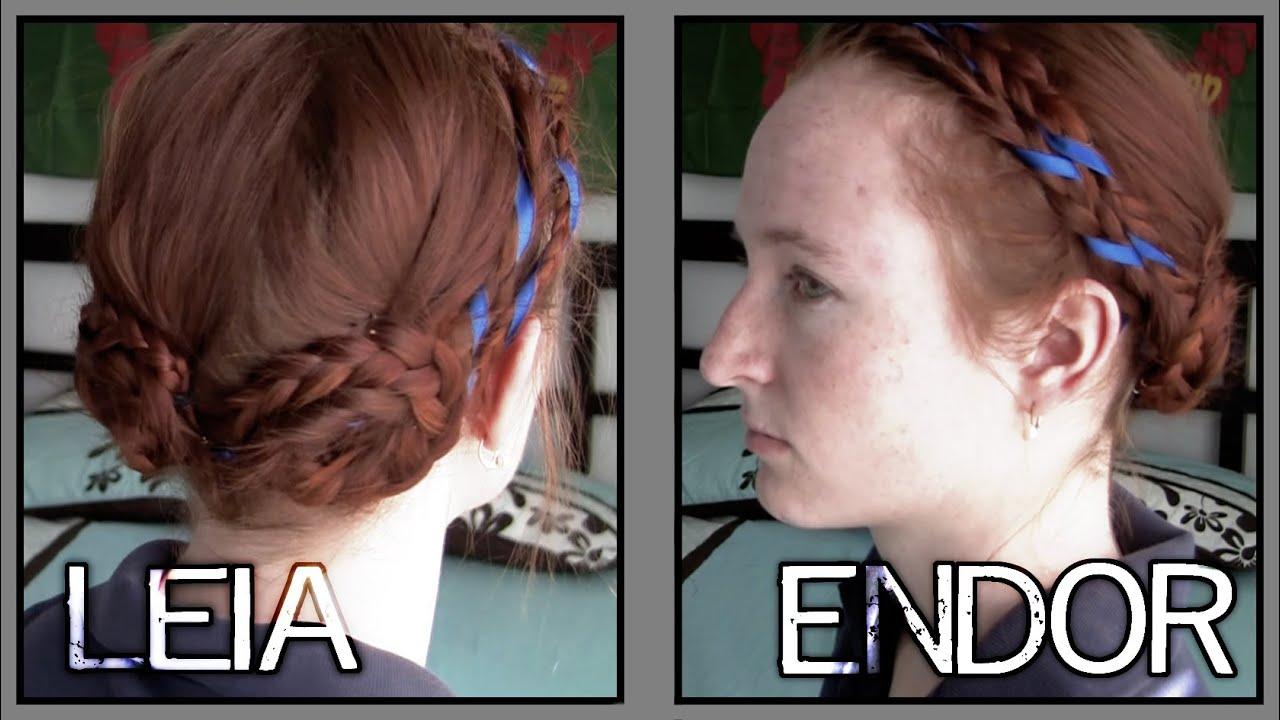 Star Wars Hair Leia On Endor Youtube