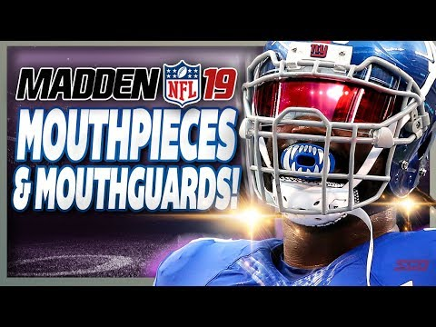 Madden 19 Mouthpieces & Mouthguards  - What WILL or WON'T be in Madden NFL 19?