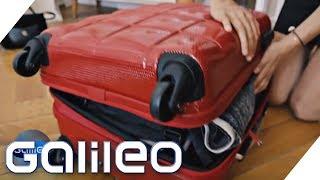 Koffer-Extremtest: Gewinnt teuer oder günstig? | Galileo | ProSieben