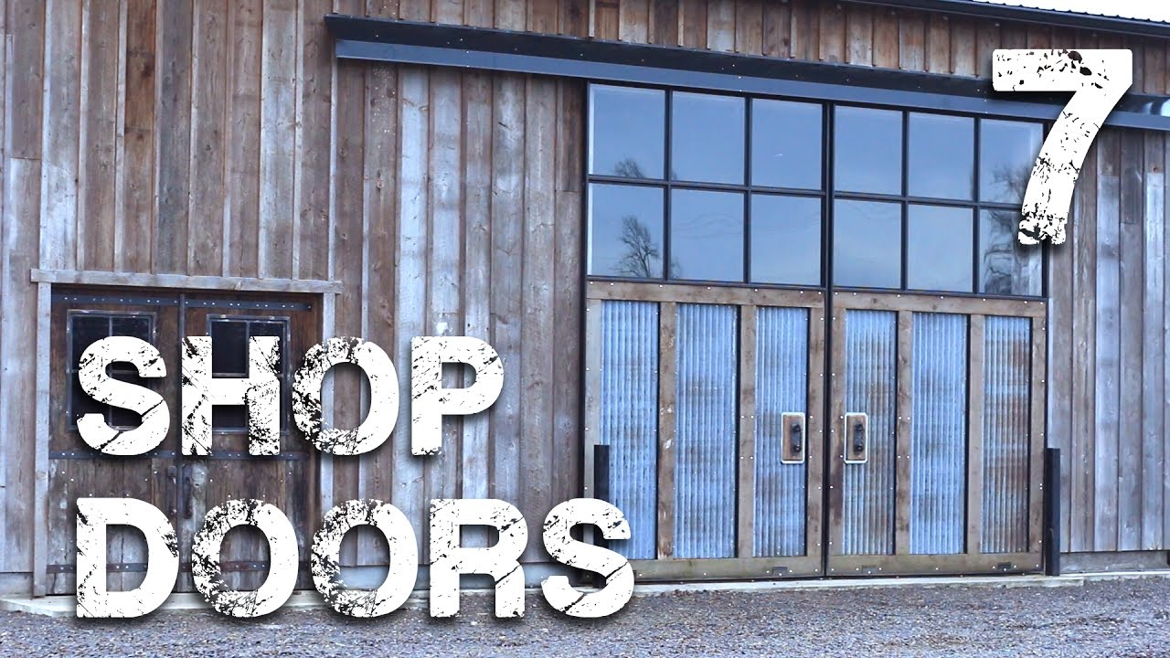 Shop Doors pt. 7 - Closing the Door on the Project - YouTube