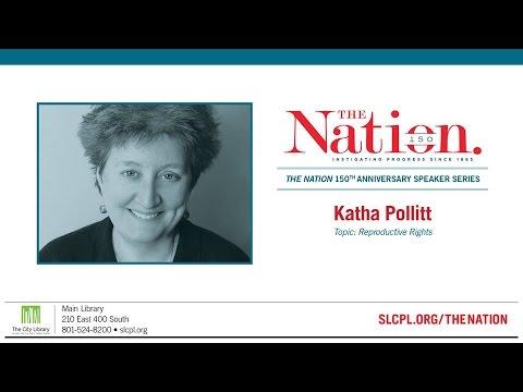 Salt Lake City Library Presents: The Nation - Katha Pollitt