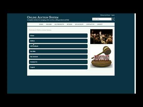 Online Auction System