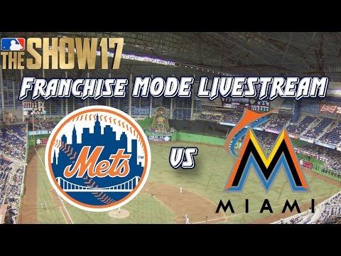 Max Scherzer vs Chris Archer!!!! MLB The Show 17 Fantasy Draft Franchise Live Stream