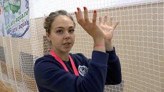 Обучение волейболу. Как делать пас. Совет  от Валерии Беловой