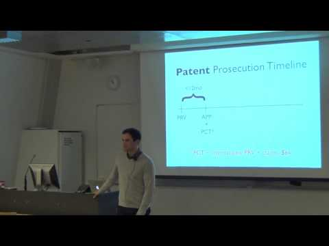 Peter Miller: Patents For Startups Part 1