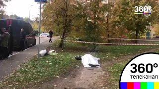 Видео с места убийства следователя Евгении Шишкиной