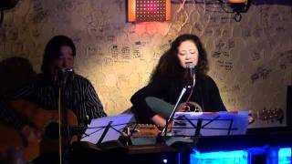 エレクションズの 詩:桃路 曲:hirataku です!唄:MEI 50th記念の今年、2月から25年ぶりに音楽再開!MEI 20111028 ME I& TORU at RUFFHOUSE.