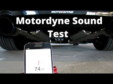 G35 / 350z - Motordyne Sound Test - YouTube