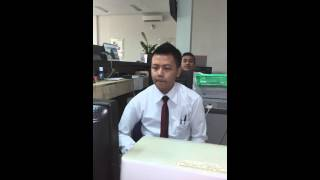 Masturbating at office