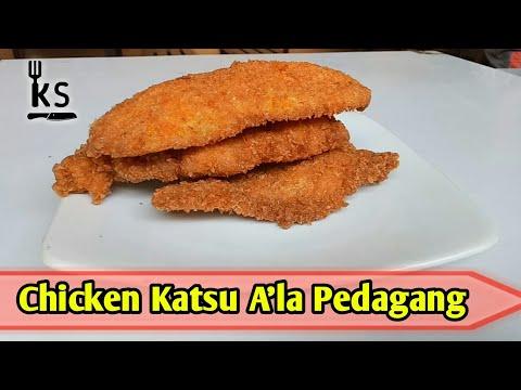 Resep Dan Cara Membuat Chicken Katsu Asli Pedagang