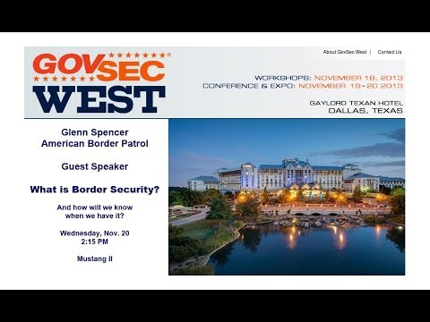 Expert Exposes DHS at GovSec West 2013 (Broadband)