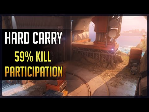 [Overwatch] Kephrii - Hard Carry - 59% Kill Participation