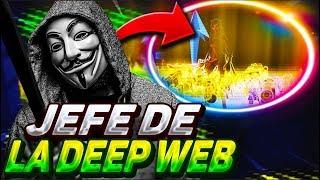 😱SCAMEO al JEFE de la DEEP WEB y me *AMENAZA de MUERTE*😱 le QUITO el INVENTARIO -Fortnite/ItsKrufy