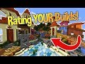 Minecraft: Rating YOUR Builds! #1