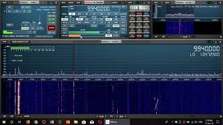 Trans World Radio from Swaziland 9940 Khz Shortwave on Sdrplay RSP1A receiver