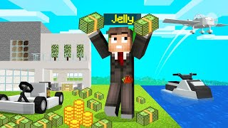 Playing MINECRAFT As A BILLIONAIRE...