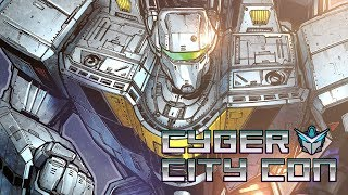 ROBOTECH COVER in FULL COLOR!  CYBER CITY CON!