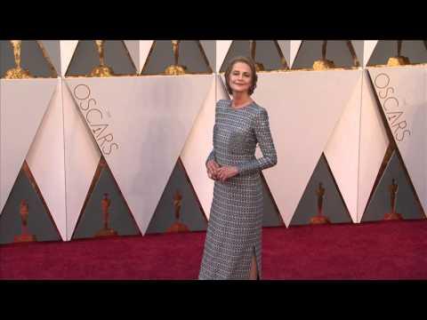 Oscars: Charlotte Rampling Red Carpet (2016)