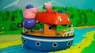 Свинка Пеппа на русском НОВЫЕ СЕРИИ - Катание на машинке! Мультики про машинки для детей новые серии